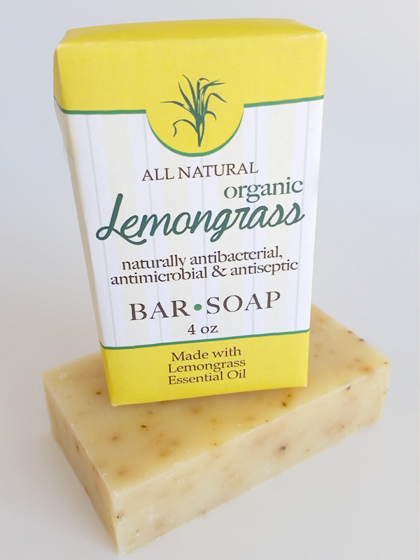 All Natural, Handmade, LemonGrass Soap by Amish Country Essentials. 3.5oz