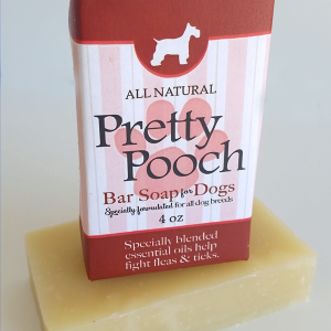 All Natural, Handmade, Pretty Pooch Soap by Amish Country Essentials. 3.5oz