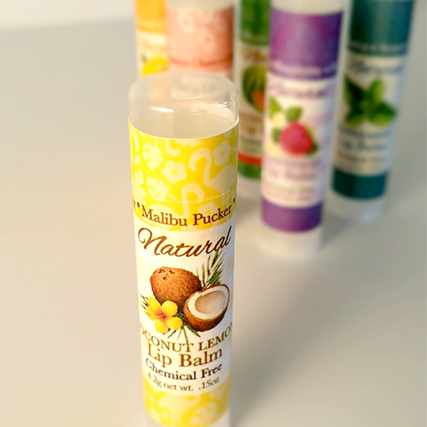 All Natural Malibu Pucker Lip Balm