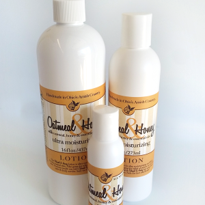 All Natural Oatmeal & Honey Lotion