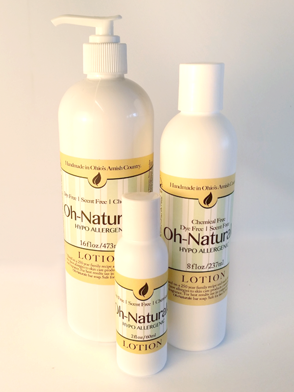 All Natural, Handmade Oh Naturale Lotion by Amish Country Essentials