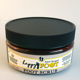 All Natural, Handmade, Happy Foot Scrub, by Amish Country Essentials