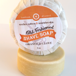 All Natural, Handmade, Orange Clove Shave Soap 3oz