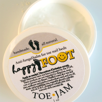 All Natural, Handmade, Happy Foot Toe Jam by Amish Country Essentials