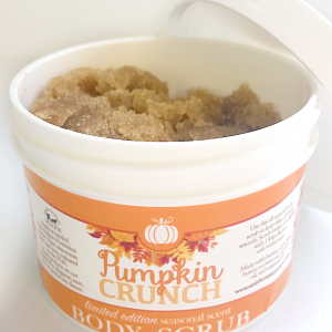 Pumpkin Crunch | Body Scrub 8oz | SEASONAL SCENT-0