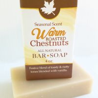 Warm Roasted Chestnuts, All Natural Handmade Skincare from Amish Country