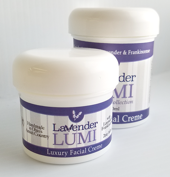 All Natural, Handmade, Lavender Lumi Moisturizer, by Amish Country Essentials