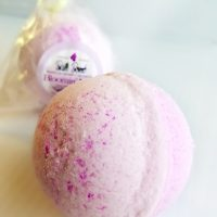 All Natural, Handmade, Bloomin Lilac Bath Bomb by Amish Country Soap Co 4oz