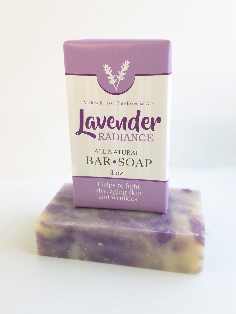 All Natural, Handmade, Lavender Soap by Amish Country Essentials. 3.5oz