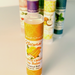 All Natural Orange Cream Lip Balm