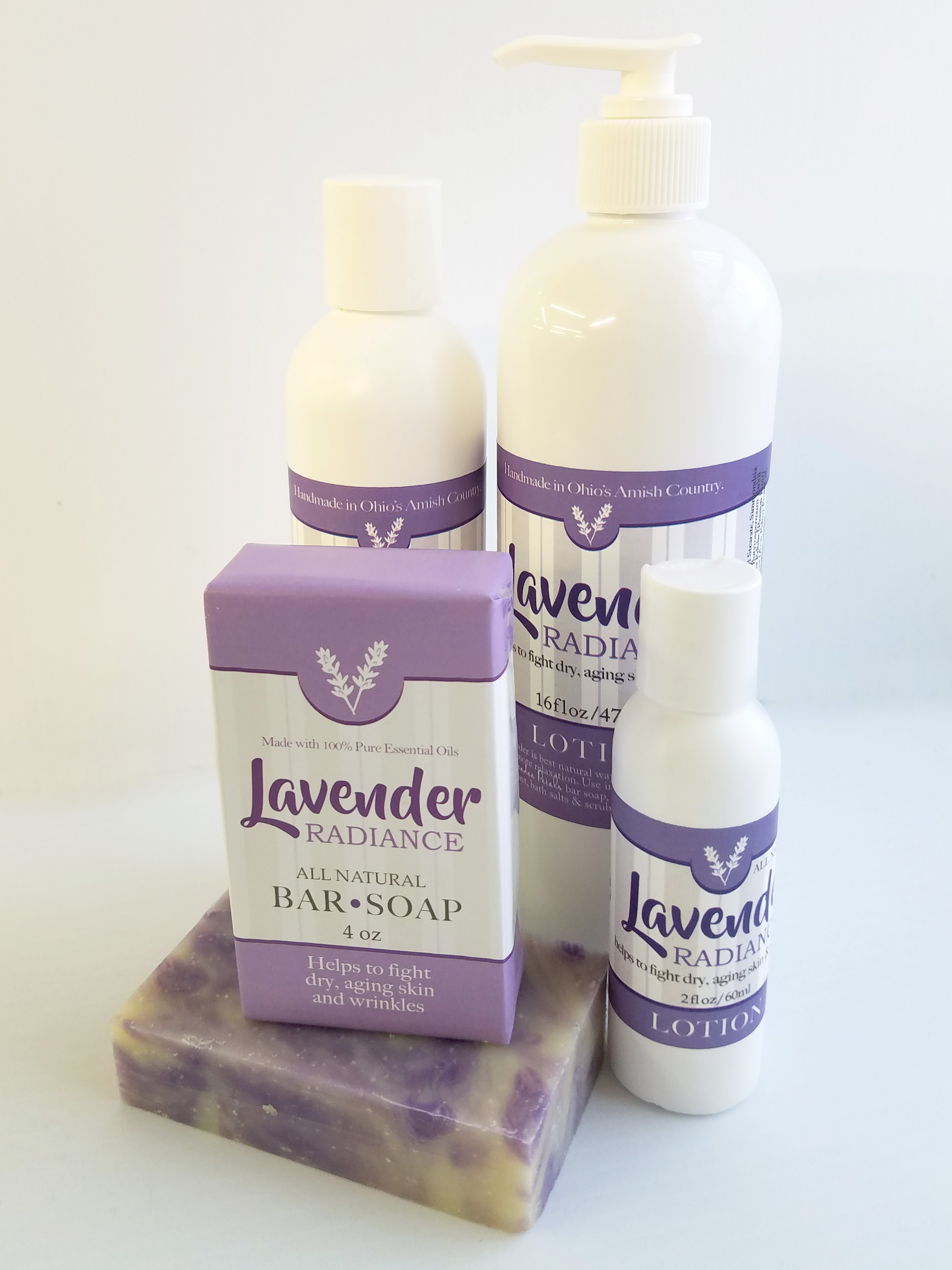 Lavender Radiance Lotion Amish Country Soap Co