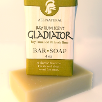 All Natural, Handmade, Gladiator Bar Soap by Amish Country Essentials 4oz