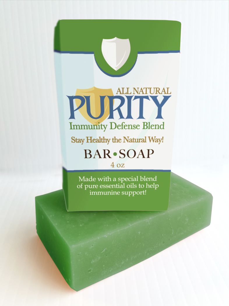 Purity | Bar Soap 4oz | NEW
